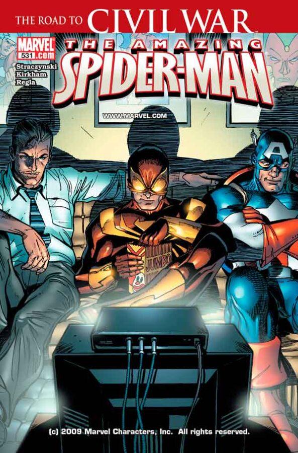 Amazing Spider-Man Vol 1 #531 Удивительный Человек Паук Том 1 #531 читать скачать комиксы онлайн
