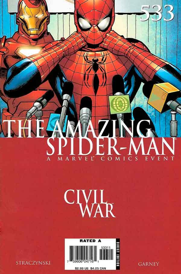 Amazing Spider-Man Vol 1 #533 Удивительный Человек Паук Том 1 #533 читать скачать комиксы онлайн