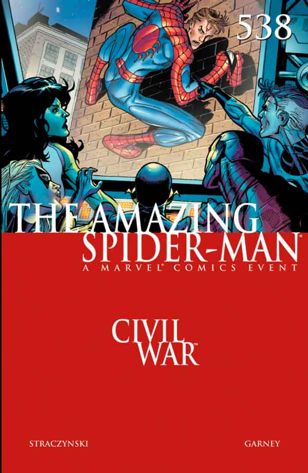 Amazing Spider-Man Vol 1 #538 Удивительный Человек Паук Том 1 #538 читать скачать комиксы онлайн