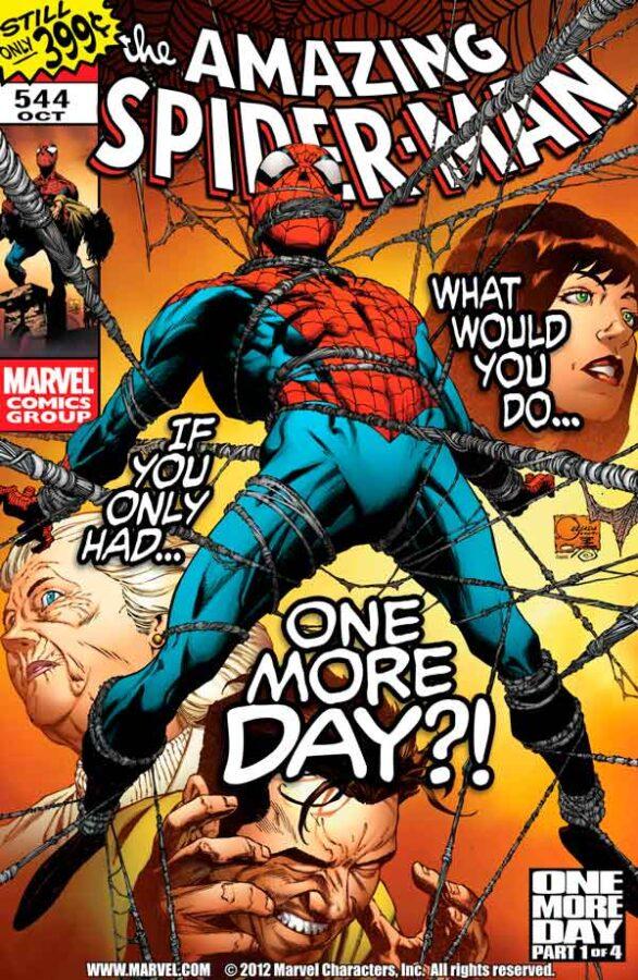 Amazing Spider-Man Vol 1 #544 Удивительный Человек Паук Том 1 #544 читать скачать комиксы онлайн