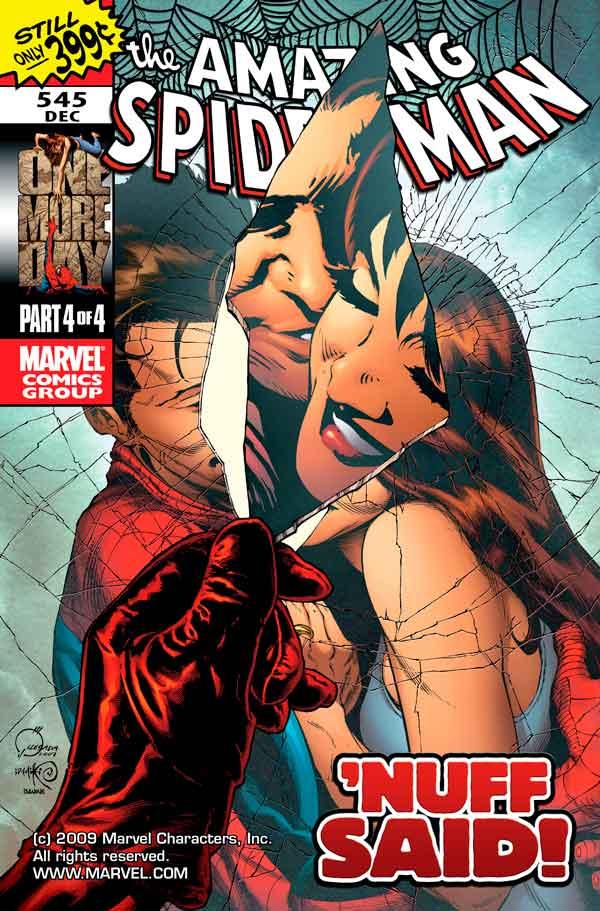 Amazing Spider-Man Vol 1 #545 Удивительный Человек Паук Том 1 #545 читать скачать комиксы онлайн
