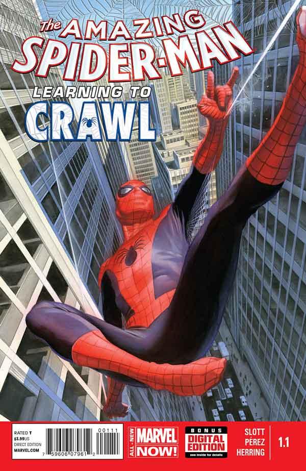 Удивительный Человек Паук Том 3 #1.1 Amazing Spider-Man Vol 3 #1.1 читать скачать комиксы