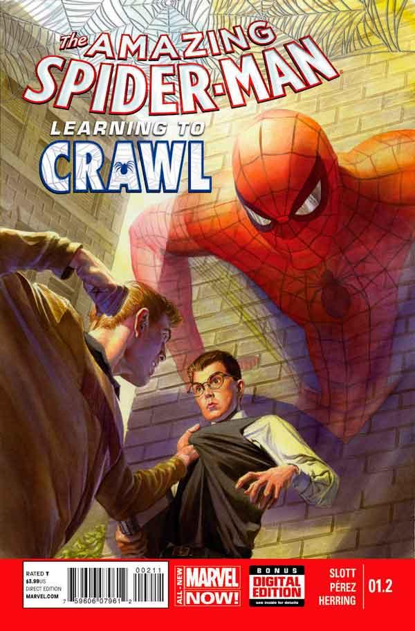 Удивительный Человек Паук Том 3 #1.2 Amazing Spider-Man Vol 3 #1.2 читать скачать комиксы