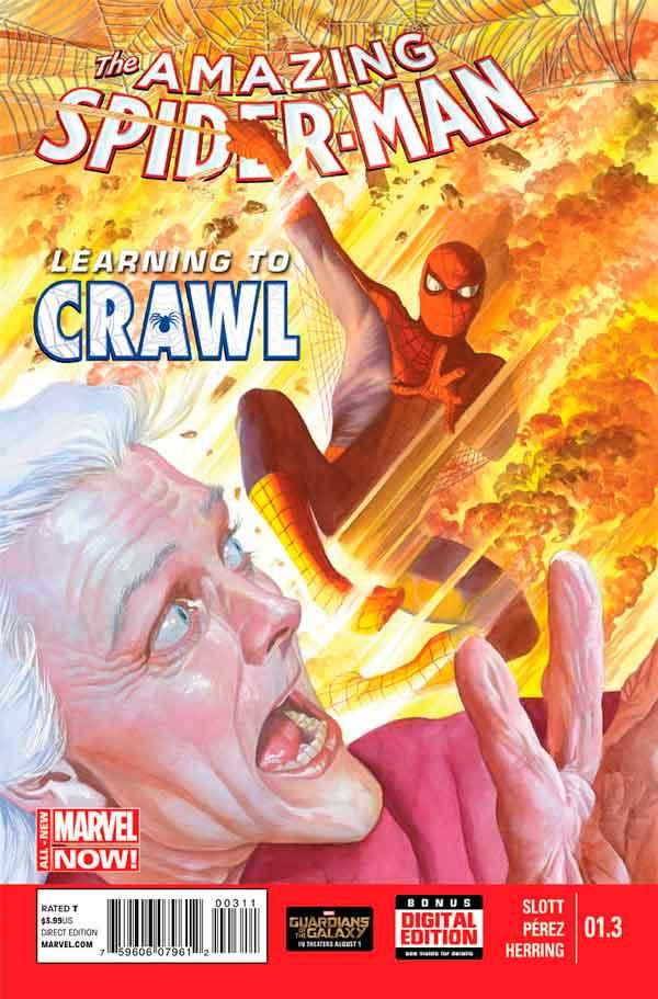 Удивительный Человек Паук Том 3 #1.3 Amazing Spider-Man Vol 3 #1.3 читать скачать комиксы
