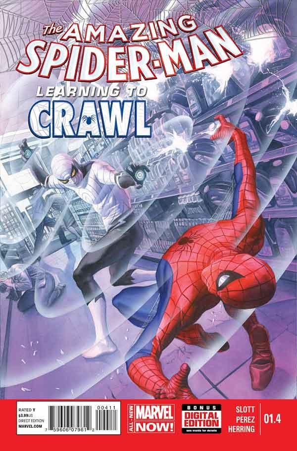 Удивительный Человек Паук Том 3 #1.4 Amazing Spider-Man Vol 3 #1.4 читать скачать комиксы