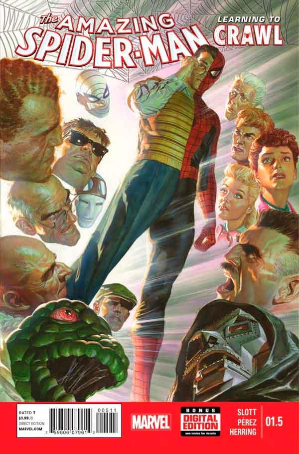 Удивительный Человек Паук Том 3 #1.5 Amazing Spider-Man Vol 3 #1.5 читать скачать комиксы