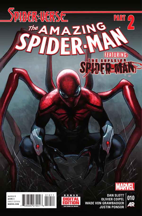 Удивительный Человек Паук Том 3 #10 Amazing Spider-Man Vol 3 #10 читать скачать комиксы