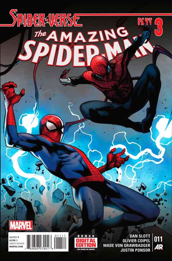 Удивительный Человек Паук Том 3 #11 Amazing Spider-Man Vol 3 #11 читать скачать комиксы