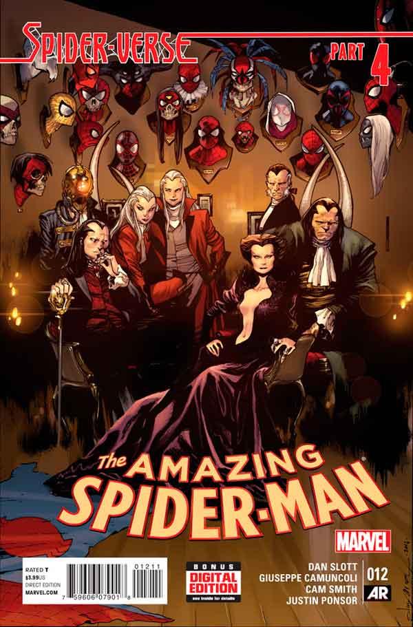 Удивительный Человек Паук Том 3 #12 Amazing Spider-Man Vol 3 #12 читать скачать комиксы