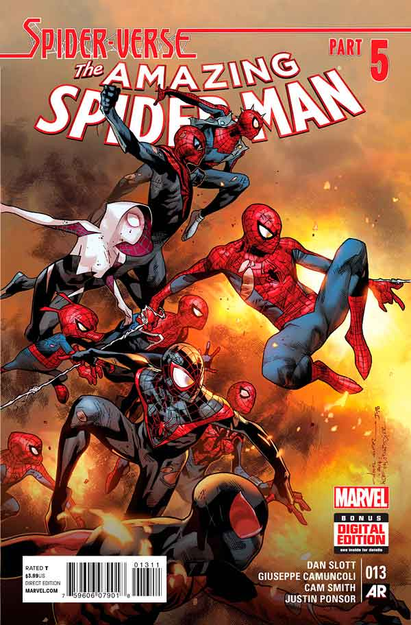 Удивительный Человек Паук Том 3 #13 Amazing Spider-Man Vol 3 #13 читать скачать комиксы