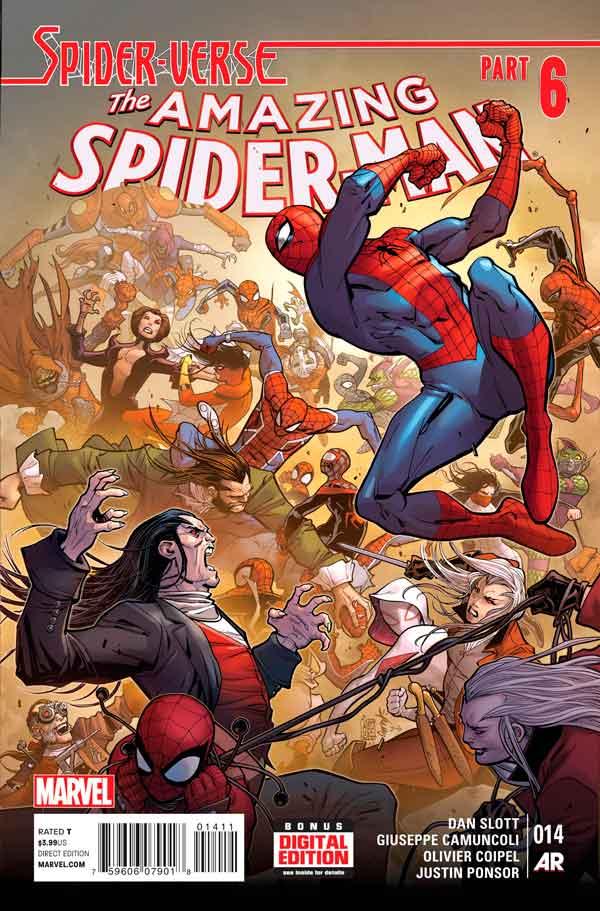 Удивительный Человек Паук Том 3 #14 Amazing Spider-Man Vol 3 #14 читать скачать комиксы