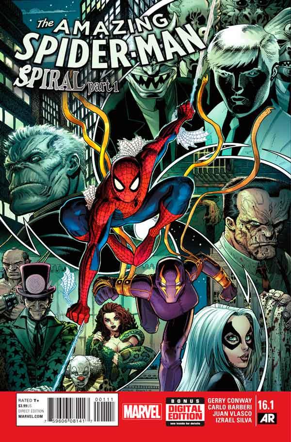 Удивительный Человек Паук Том 3 #16.1 Amazing Spider-Man Vol 3 #16.1 читать скачать комиксы