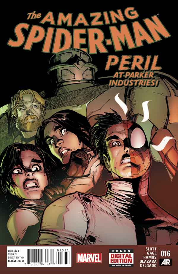 Удивительный Человек Паук Том 3 #16 Amazing Spider-Man Vol 3 #16 читать скачать комиксы