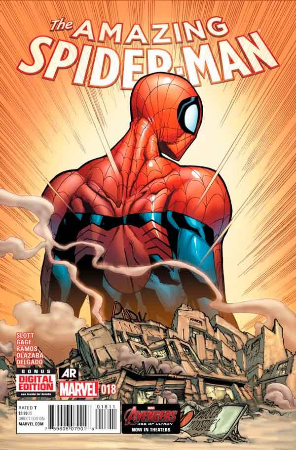 Удивительный Человек Паук Том 3 #18 Amazing Spider-Man Vol 3 #18 читать скачать комиксы