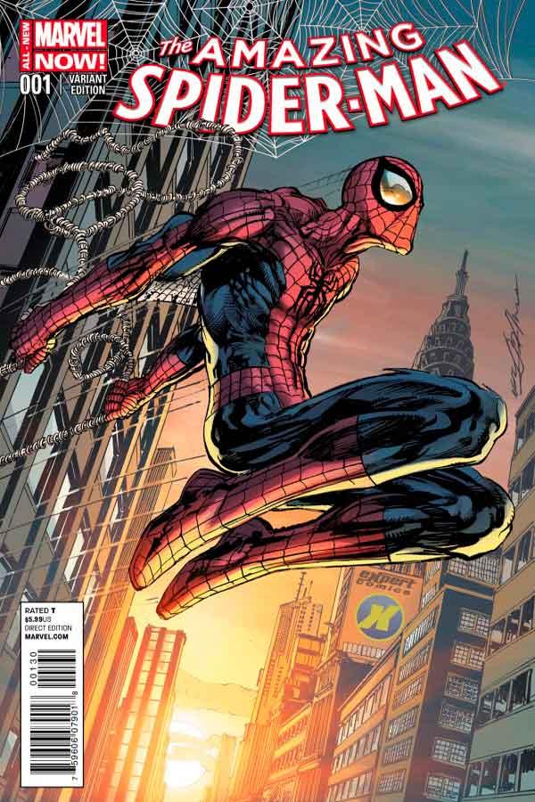 Удивительный Человек Паук Том 3 #1 Amazing Spider-Man Vol 3 #1 читать скачать комиксы