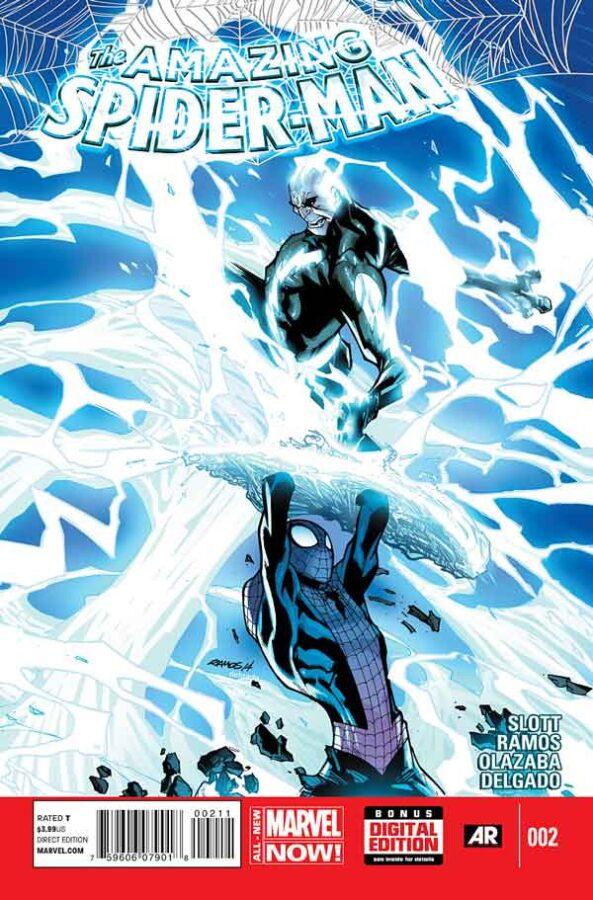 Удивительный Человек Паук Том 3 #2 Amazing Spider-Man Vol 3 #2 читать скачать комиксы