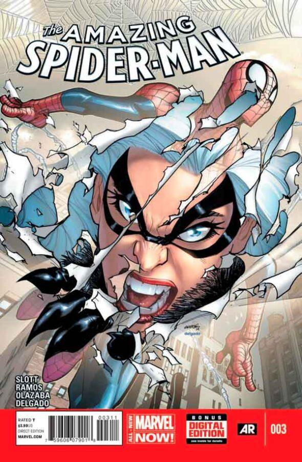 Удивительный Человек Паук Том 3 #3 Amazing Spider-Man Vol 3 #3 читать скачать комиксы