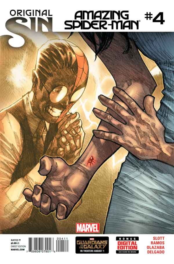 Удивительный Человек Паук Том 3 #4 Amazing Spider-Man Vol 3 #4 читать скачать комиксы