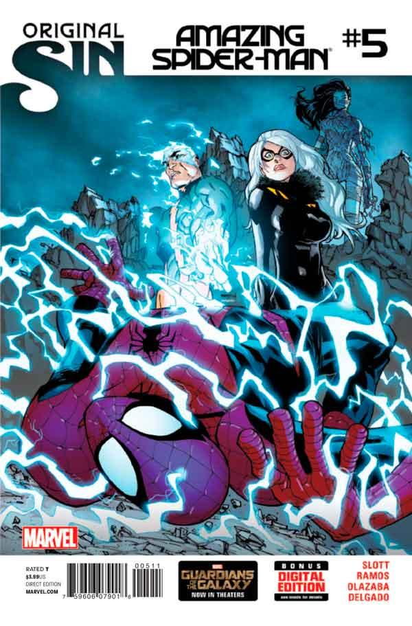 Удивительный Человек Паук Том 3 #5 Amazing Spider-Man Vol 3 #5 читать скачать комиксы