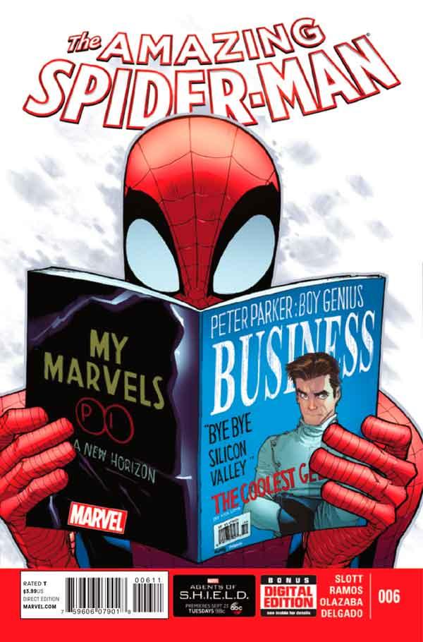 Удивительный Человек Паук Том 3 #6 Amazing Spider-Man Vol 3 #6 читать скачать комиксы