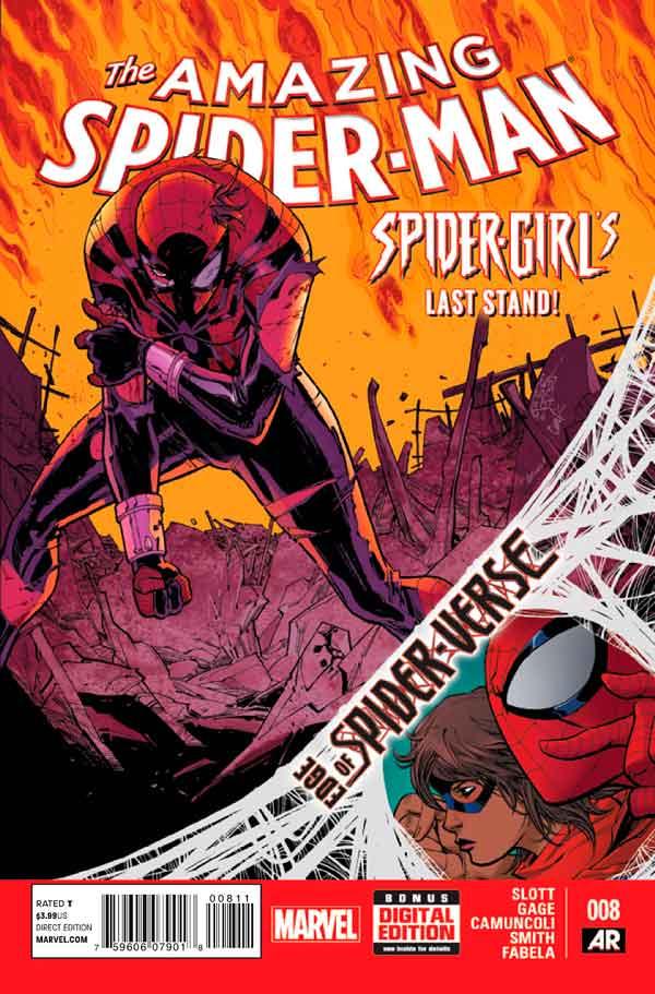 Удивительный Человек Паук Том 3 #8 Amazing Spider-Man Vol 3 #8 читать скачать комиксы