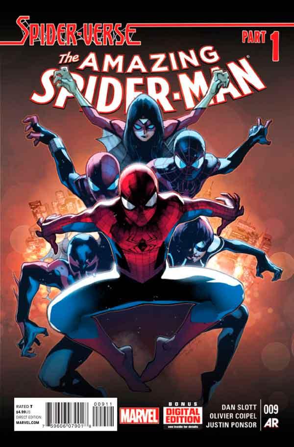 Удивительный Человек Паук Том 3 #9 Amazing Spider-Man Vol 3 #9 читать скачать комиксы