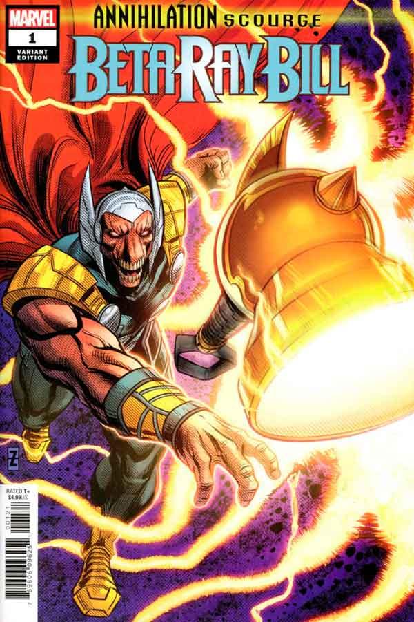 Annihilation — Scourge: Beta Ray Bill #1 читать скачать комиксы