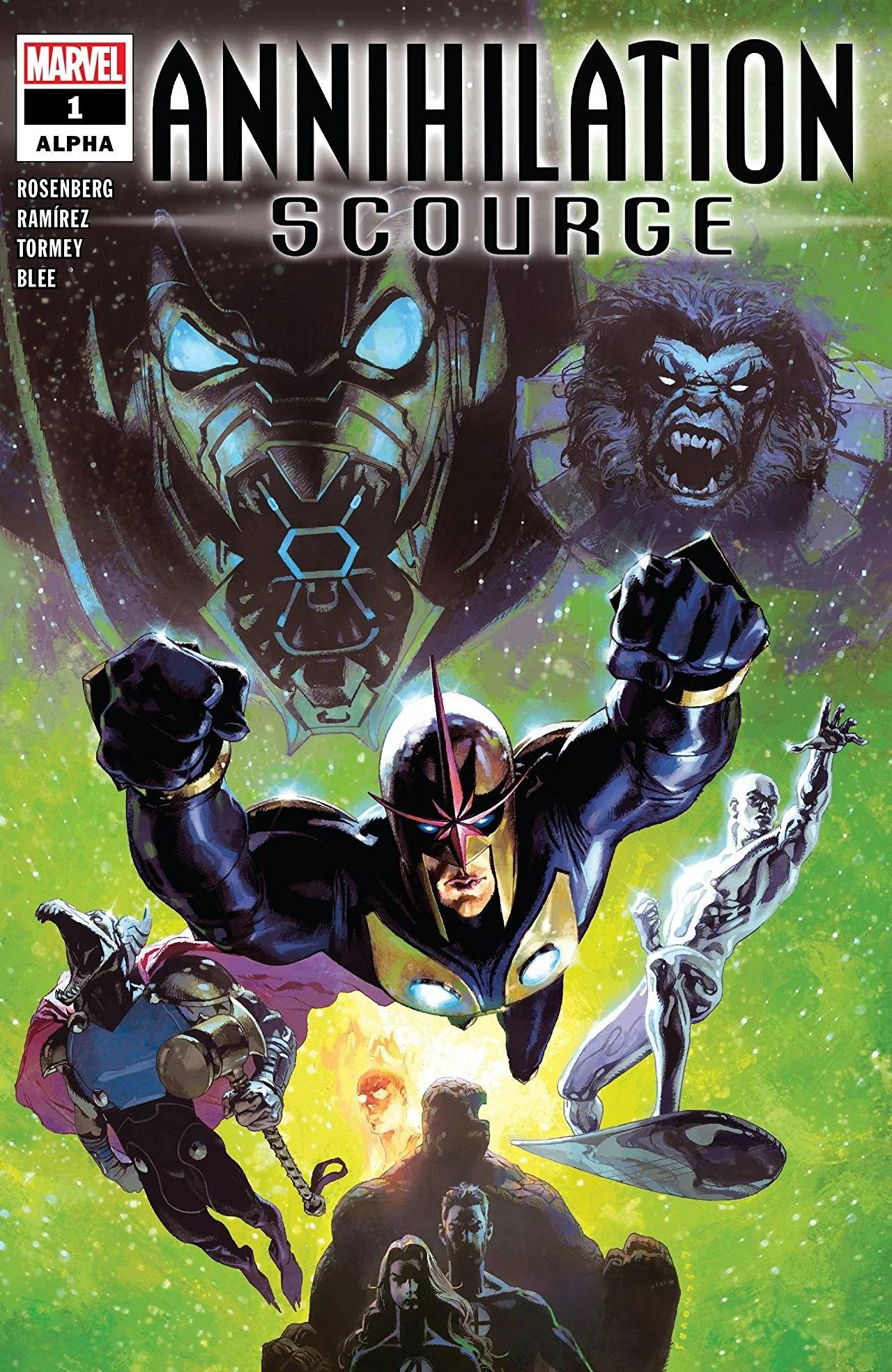 Annihilation - Scourge Alpha Vol 1 #1 Аннигиляция — Чума: Альфа Том 1 #1 читать скачать комиксы онлайн