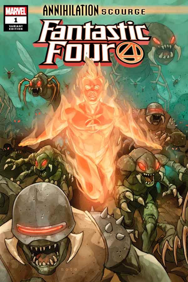 Annihilation - Scourge: Fantastic Four Vol 1 #1 Аннигиляция — Чума: Фантастическая Четверка Том 1 #1 читать скачать комиксы онлайн