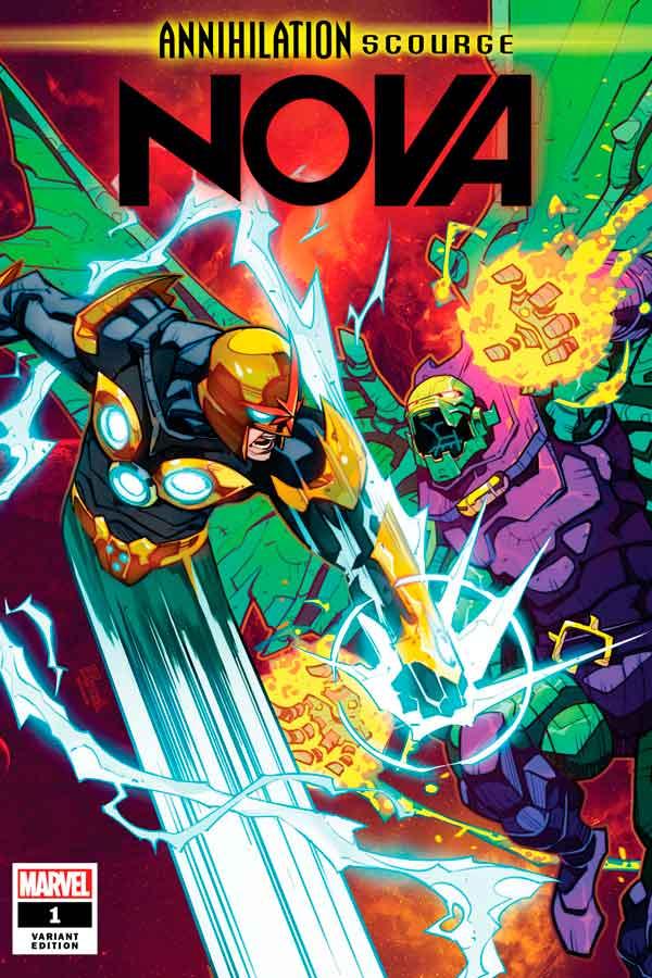 Annihilation - Scourge: Nova #1 Аннигиляция — Чума: Нова Том 1 #1 читать скачать комиксы онлайн