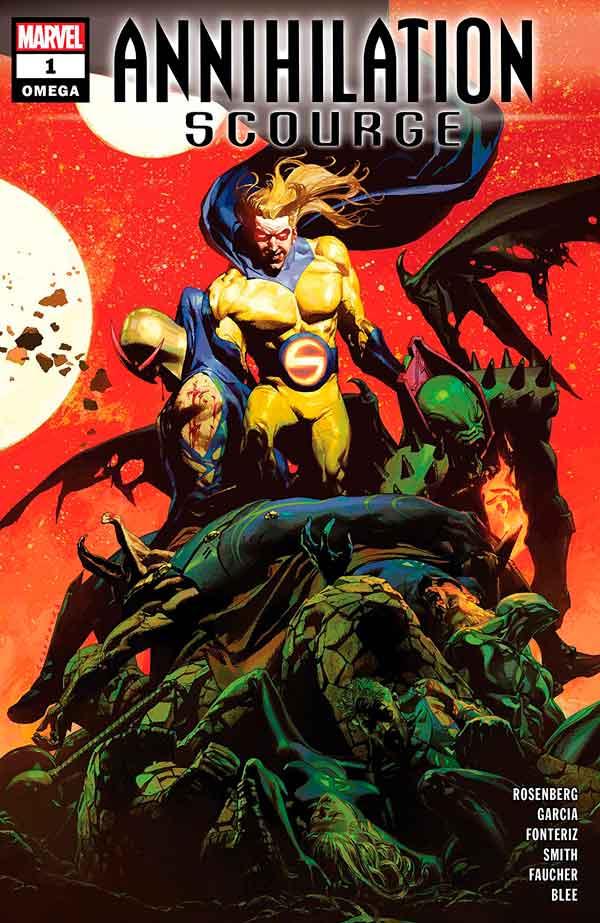 Annihilation - Scourge Omega Vol 1 #1 Аннигиляция — Чума: Омега Том 1 #1 читать скачать комиксы онлайн
