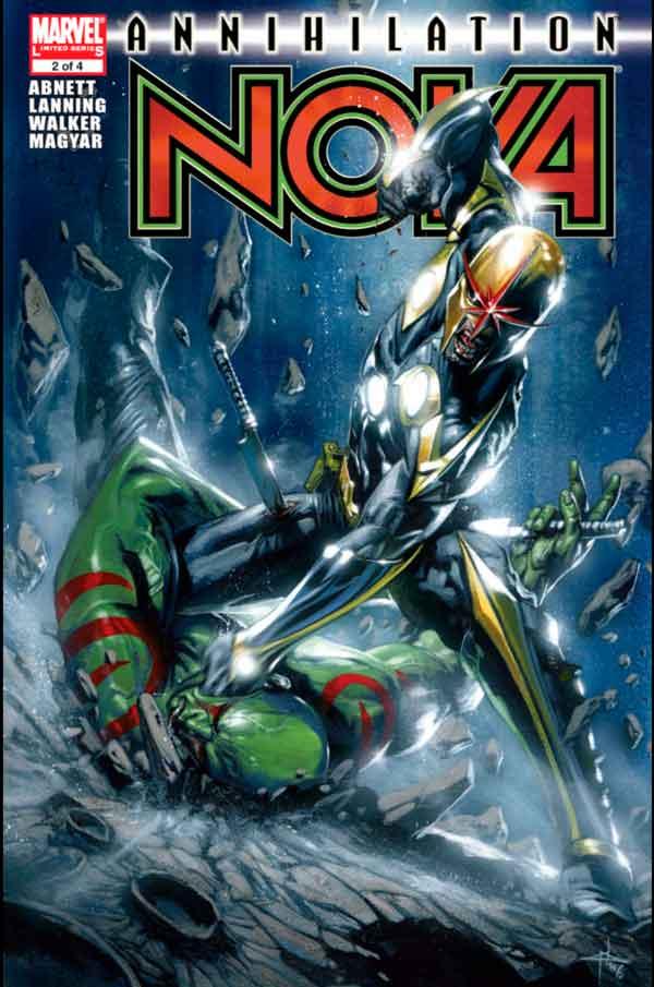Annihilation: Nova Vol 1 #2 Аннигиляция Нова Том 1 #2 читать скачать комиксы онлайн