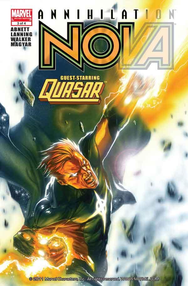 Annihilation: Nova Vol 1 #3 Аннигиляция Нова Том 1 #3 читать скачать комиксы онлайн