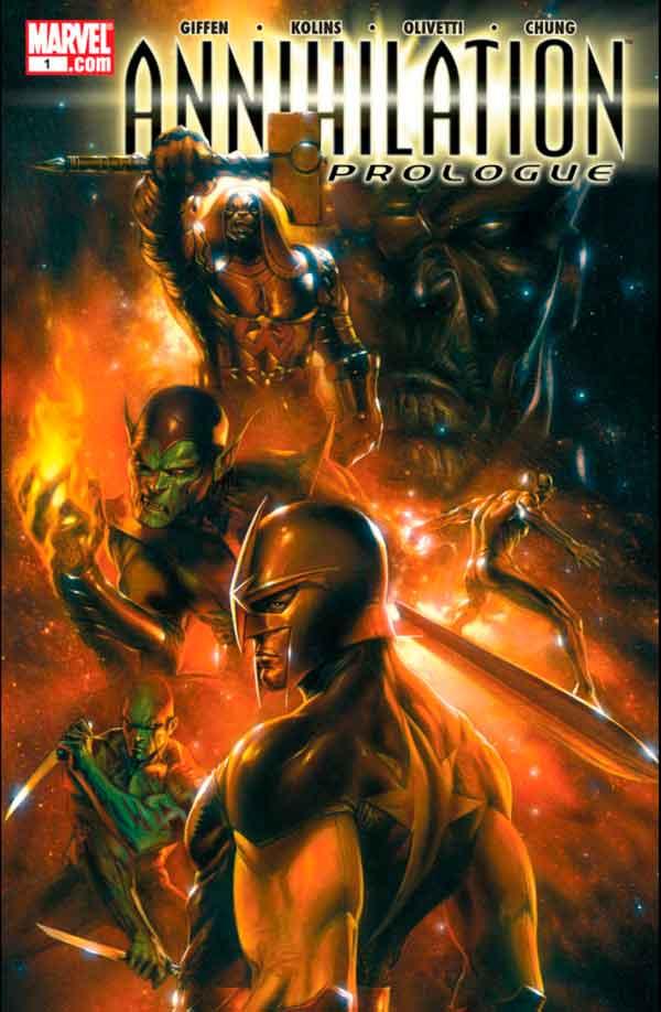Annihilation: Prologue Vol 1 #1 Аннигиляция Пролог Читать скачать комиксы онлайн