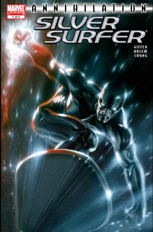 Annihilation: Silver Surfer Vol 1 #1 Аннигиляция Серебряный Серфер Том 1 #1 читать скачать комиксы онлайн