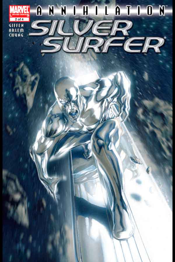 Annihilation: Silver Surfer Vol 1 #2 Аннигиляция Серебряный Серфер Том 1 #2 читать скачать комиксы онлайн