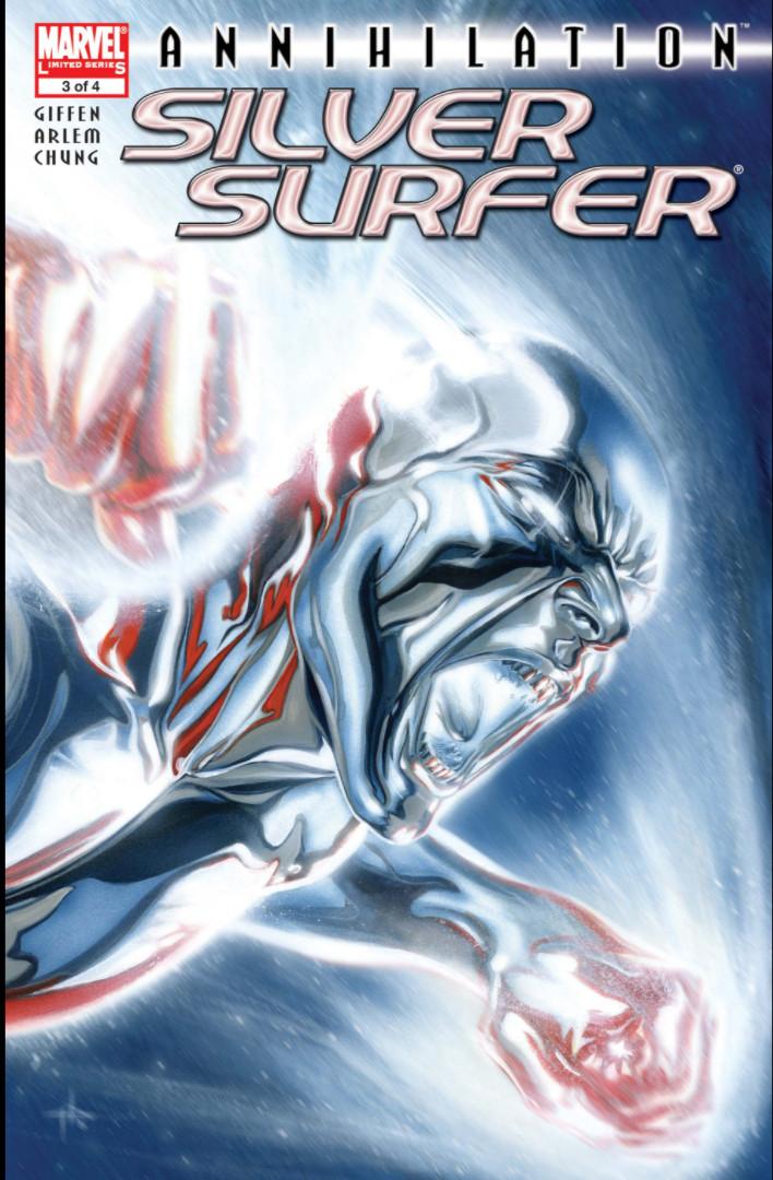 Annihilation: Silver Surfer Vol 1 #3 Аннигиляция Серебряный Серфер Том 1 #3 читать скачать комиксы онлайн
