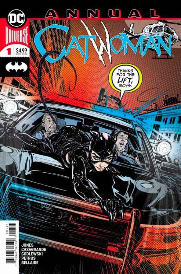 Catwoman Annual #1 (2019) Женщина-кошка Ежегодник #1 (2019) скачать читать онлайн