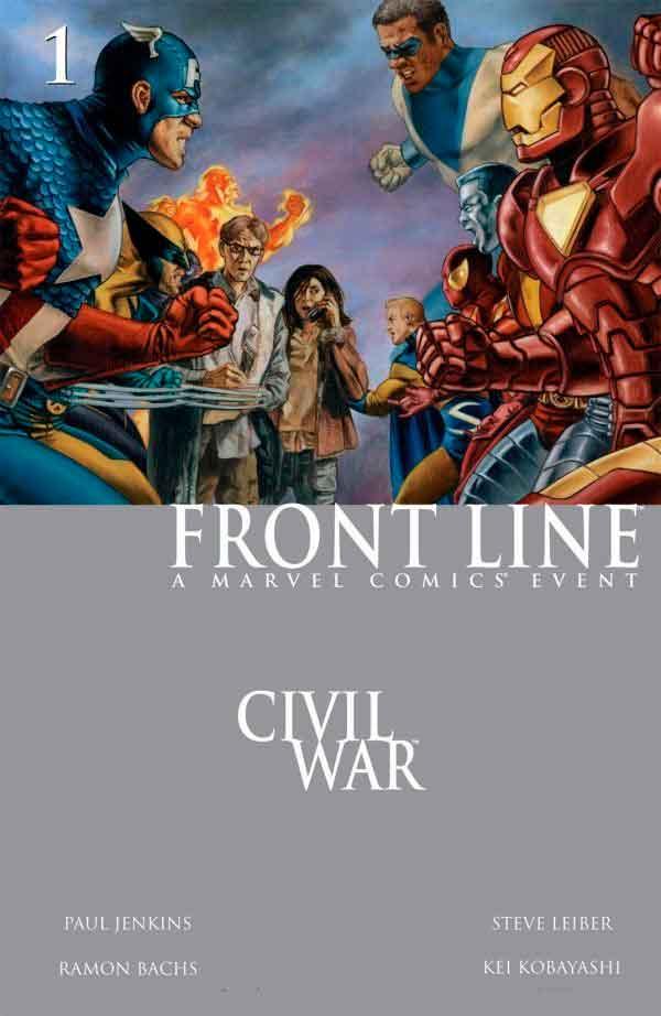 Civil War: Front Line Vol 1 #1 Гражданская Война Линия Фронта Том 1 #1 читать скачать комиксы онлайн