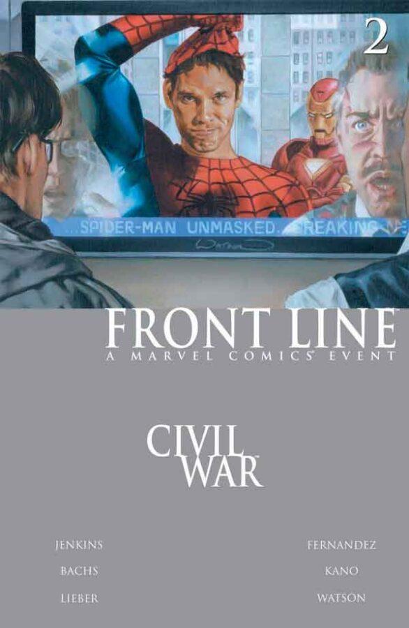 Civil War: Front Line Vol 1 #2 Гражданская Война Линия Фронта Том 1 #2 читать скачать комиксы онлайн
