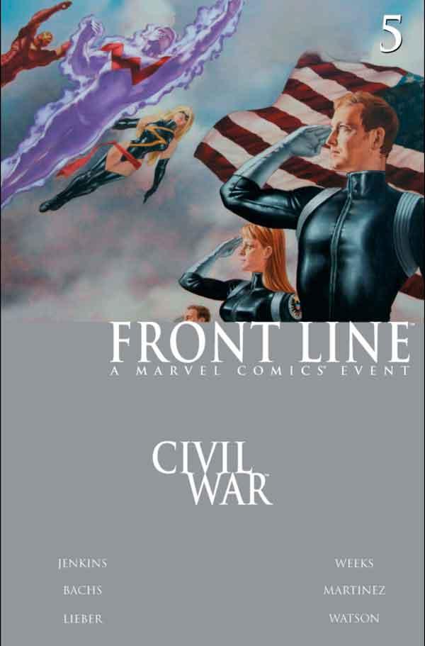 Civil War: Front Line Vol 1 #5 Гражданская Война Линия Фронта Том 1 #5 читать скачать комиксы онлайн