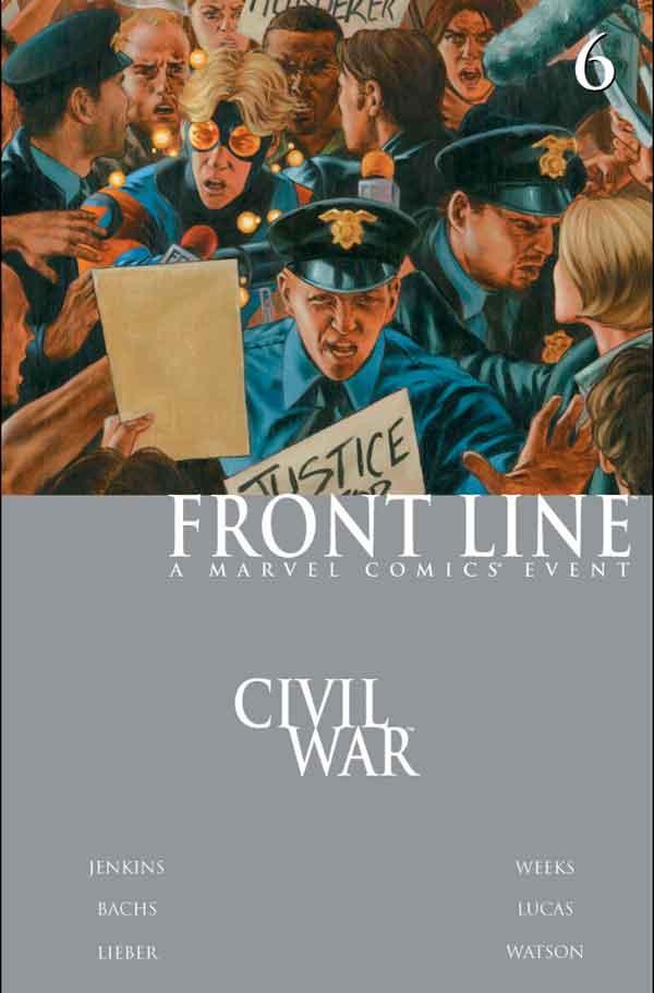 Civil War: Front Line Vol 1 #6 Гражданская Война Линия Фронта Том 1 #6 читать скачать комиксы онлайн