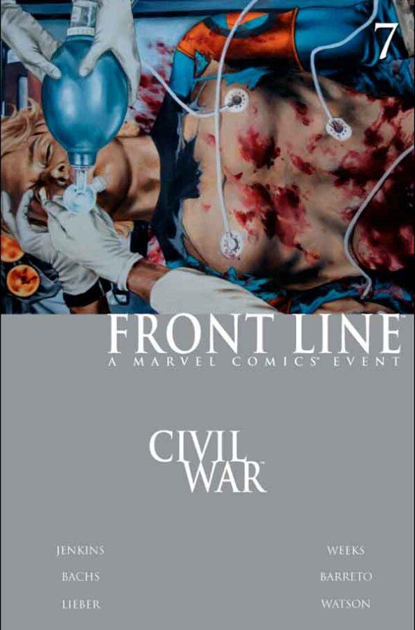 Civil War: Front Line Vol 1 #7 Гражданская Война Линия Фронта Том 1 #7 читать скачать комиксы онлайн
