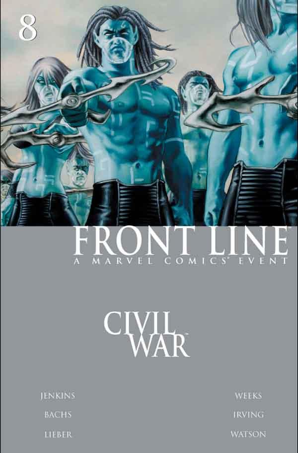 Civil War: Front Line Vol 1 #8 Гражданская Война Линия Фронта Том 1 #8 читать скачать комиксы онлайн