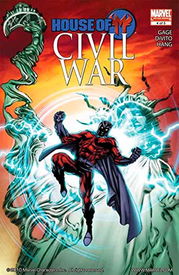 Civil War: House of M #4 Vol 1 День М: Гражданская война (Династия М: Гражданская война) #4 Том 1 читать скачать комиксы онлайн