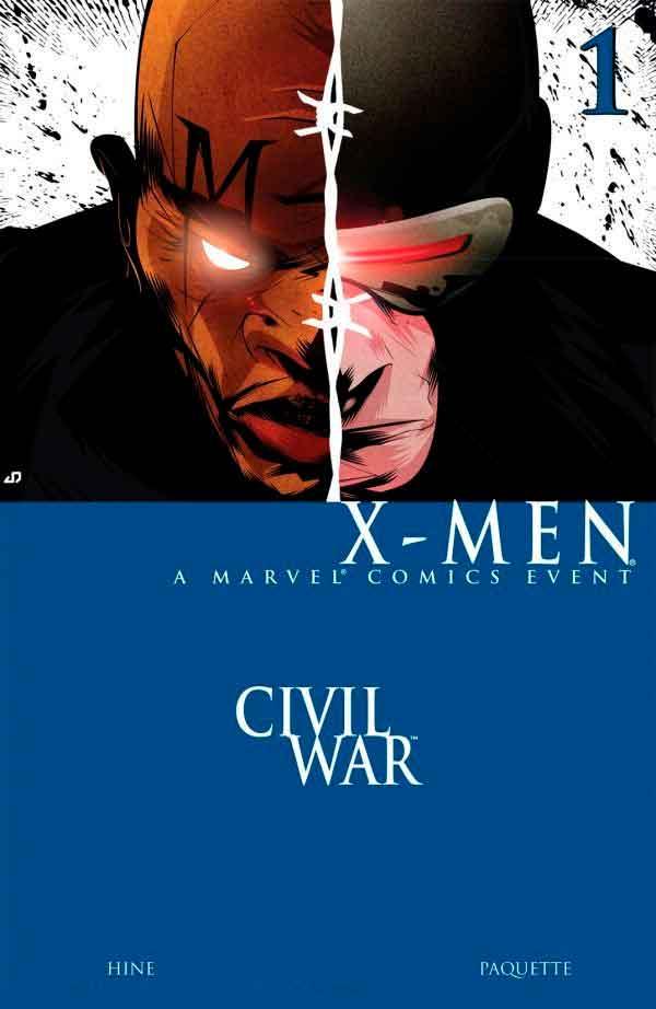 Civil War: X-Men Vol 1 #1 Гражданская Война Люди-Икс Том 1 #1