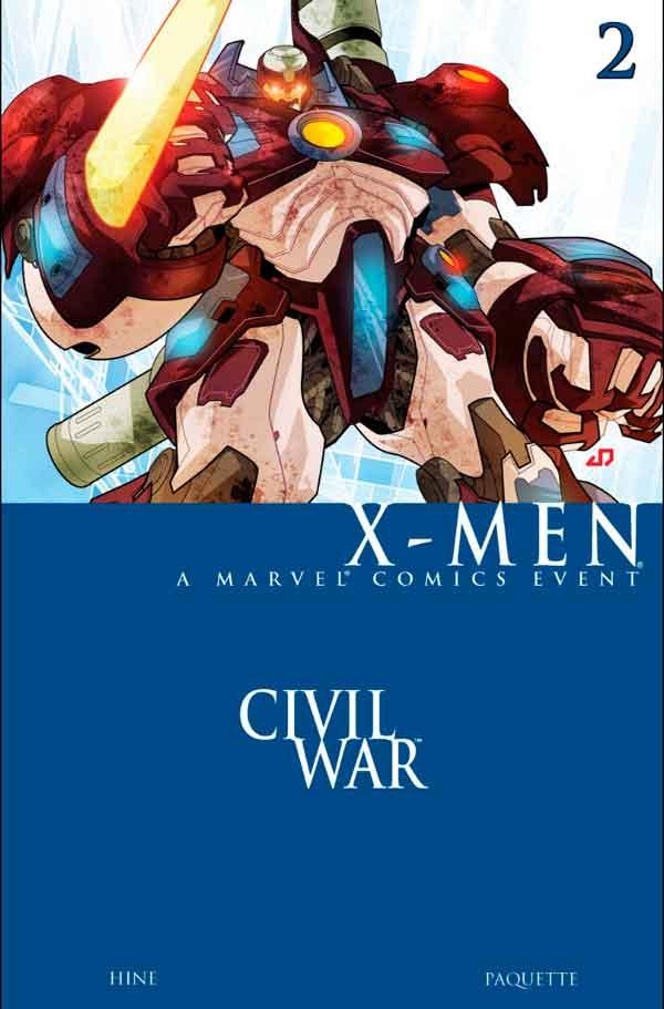Civil War: X-Men Vol 1 #2 Гражданская Война Люди-Икс Том 1 #2 читать скачать комиксы онлайн