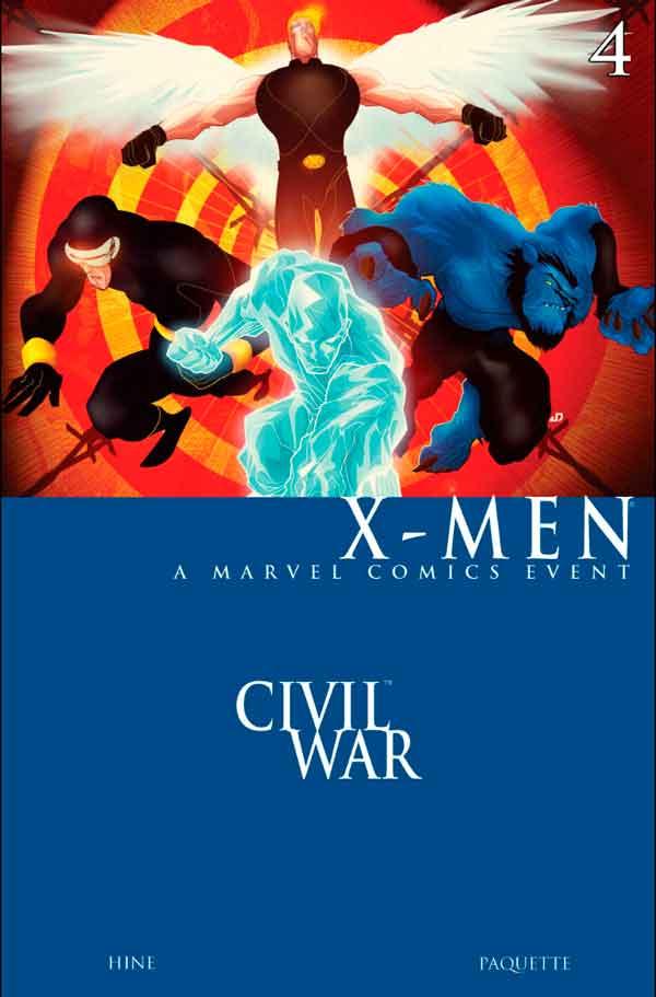 Civil War: X-Men Vol 1 #4 Гражданская Война Люди-Икс Том 1 #4 читать скачать комиксы онлайн