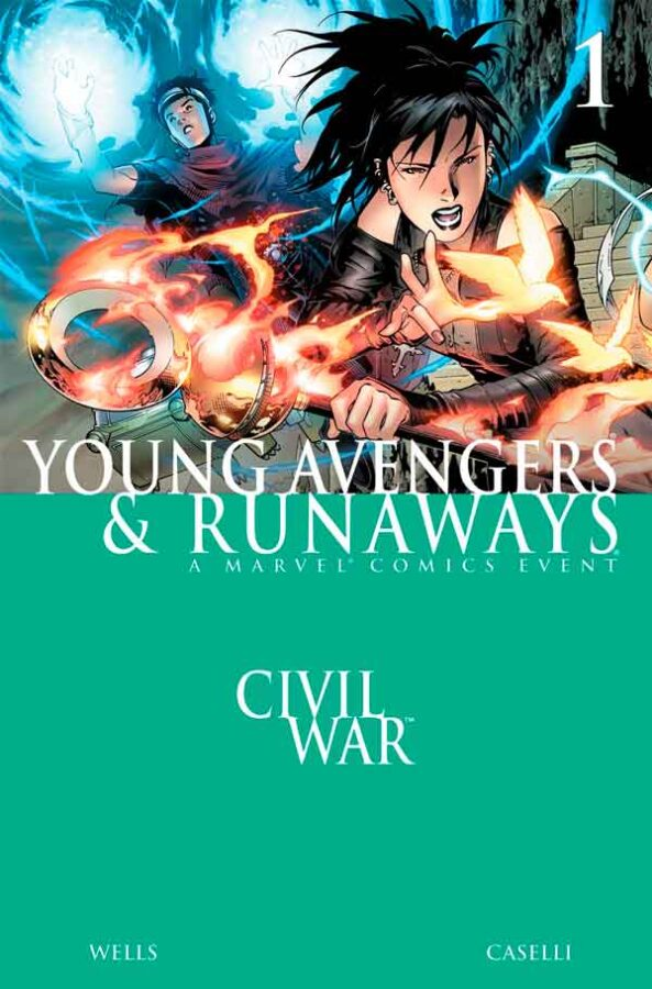 Civil War - Young Avengers & Runaways #1 Гражданская Война: Юные Мстители и Беглецы скачать/читать онлайн