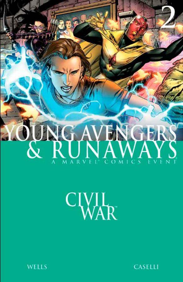 Civil War - Young Avengers & Runaways #2 Гражданская Война: Юные Мстители и Беглецы #2 скачать/читать онлайн